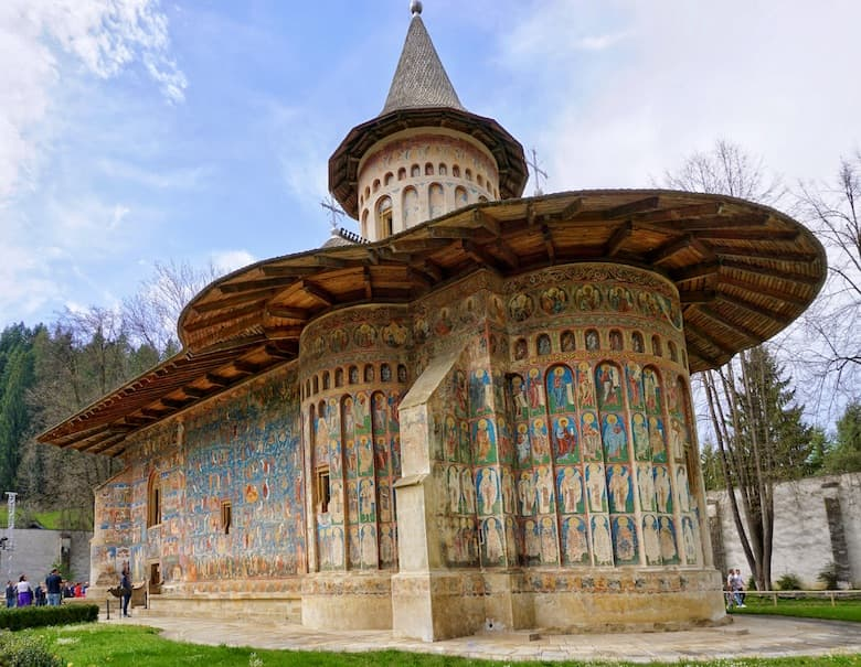 Bucovina's painted monasteries