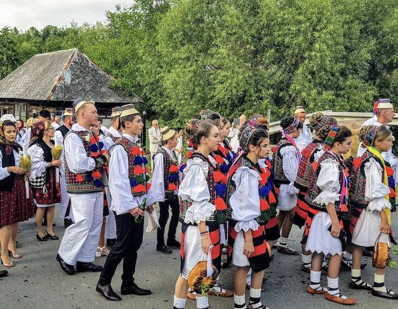 Trsaditions in Romania