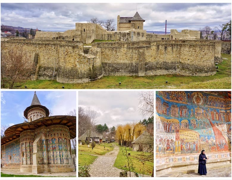 Suceava and the painted monasteries