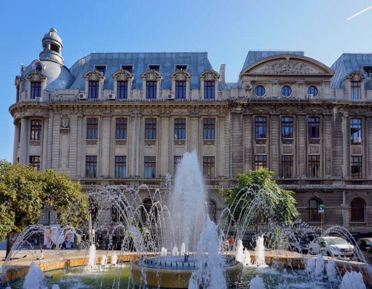 Bucharest main touristic sights