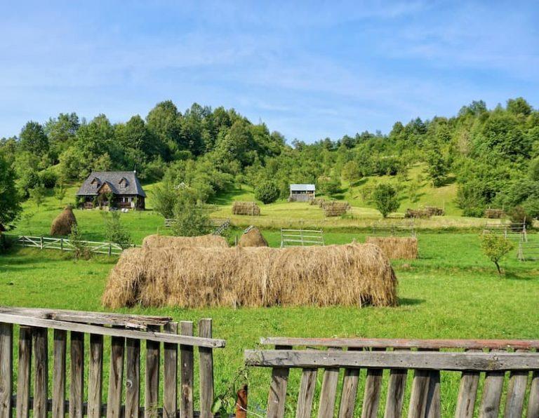 Bucolic landscape in Maramures