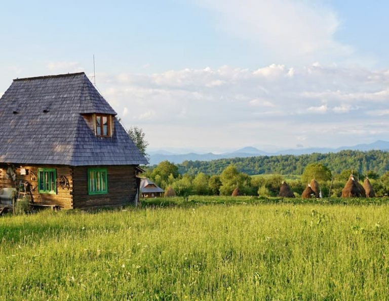 Traditional guesthouse in Maramures