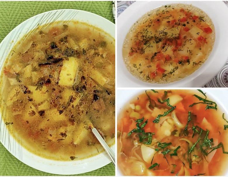 Vegetable sour soup - bors